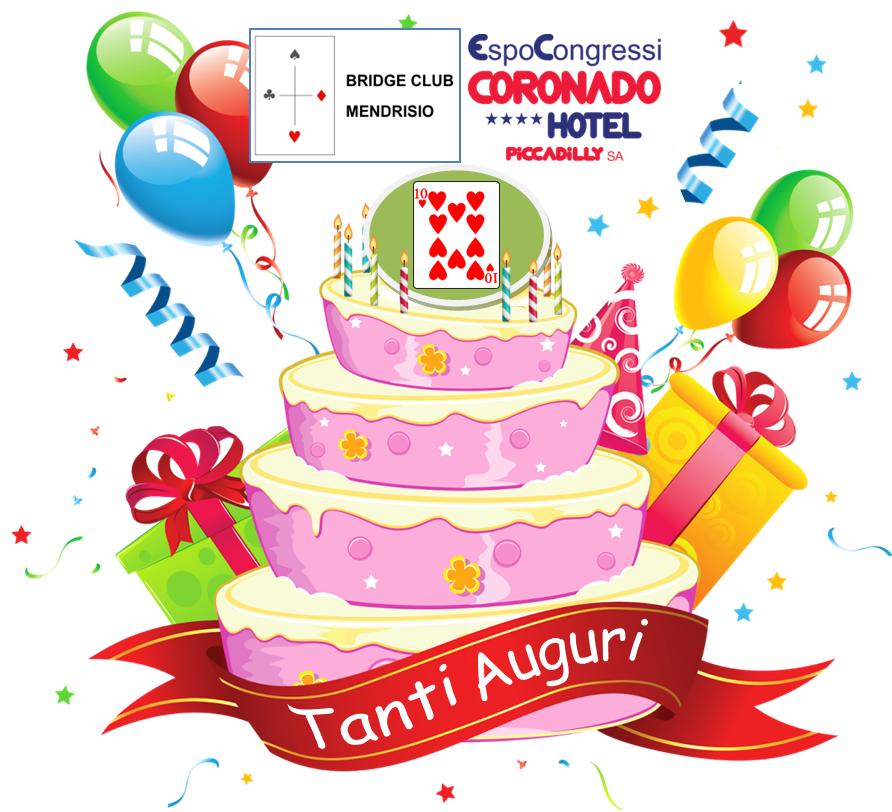 TANTI AUGURI  BCMe-Hotel Coronado